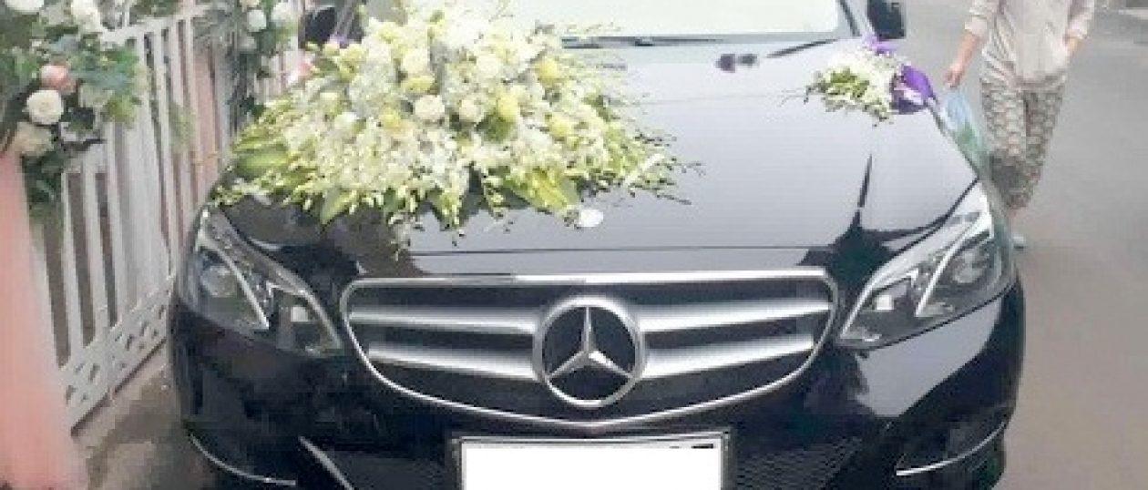 Xe cưới Mercedes E300 đen