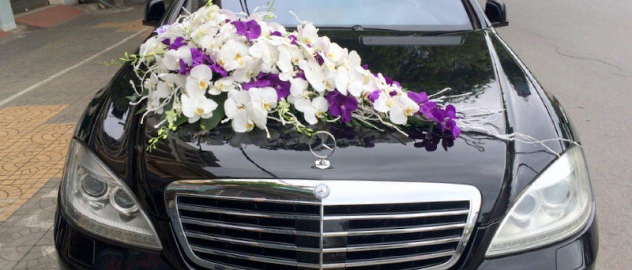 Xe cưới Mercedes E300