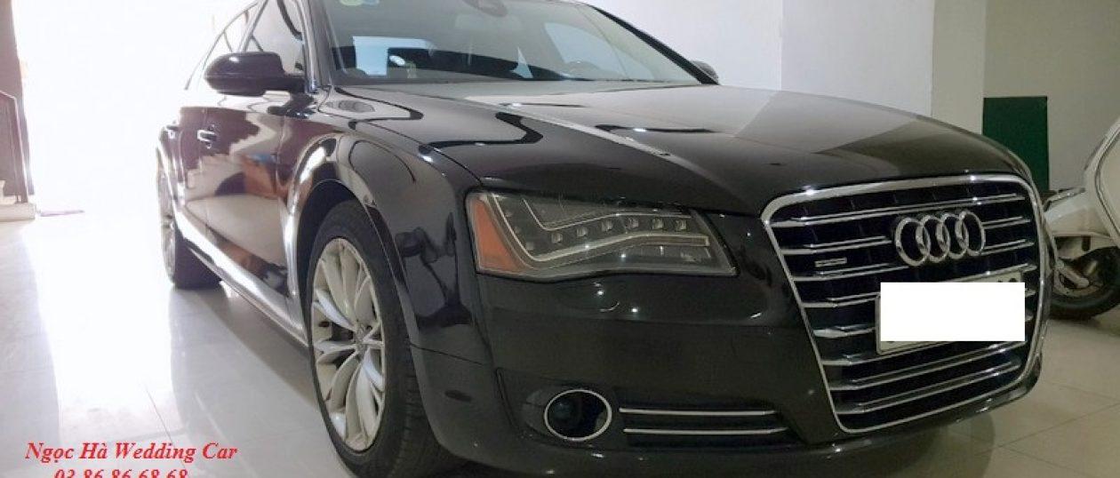 Xe cưới Audi A8 đen