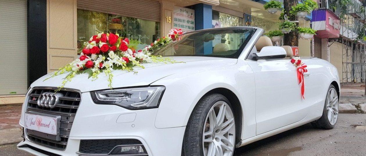 Xe cưới Audi S5 mui trần